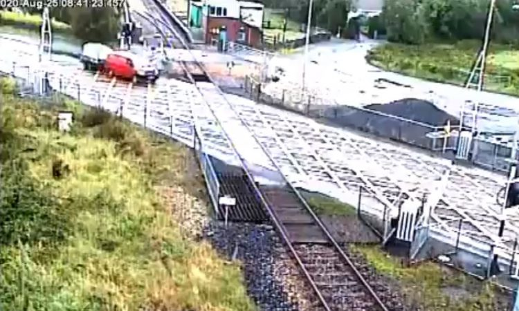 Train delays from Mayo to Dublin after van ploughs through barrier