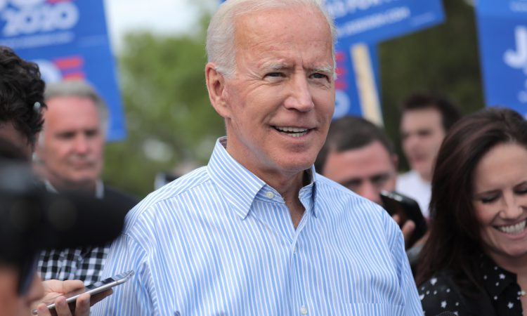 What are US presidential candidate Joe Biden's plans for American farming?