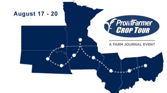 US crop tour to give insight into yield and storm damage