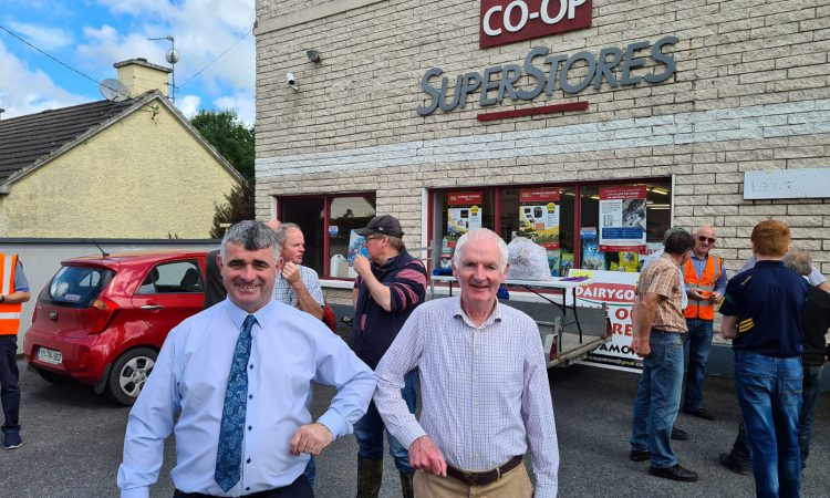 TD calls on Dairygold to reconsider co-op store closures