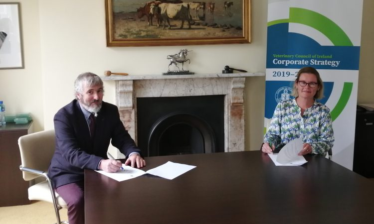 VCI commits to donate €30,000/year to vets support fund