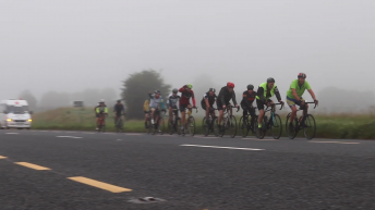 Ultra-cycle day 4: Unforgiving weather can't stop team reaching fundraising target