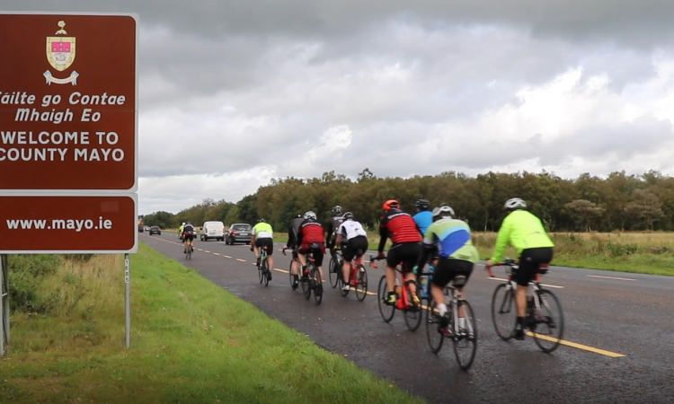 Charity 'ultra-cycle' comes to an end – with some €70,000 raised