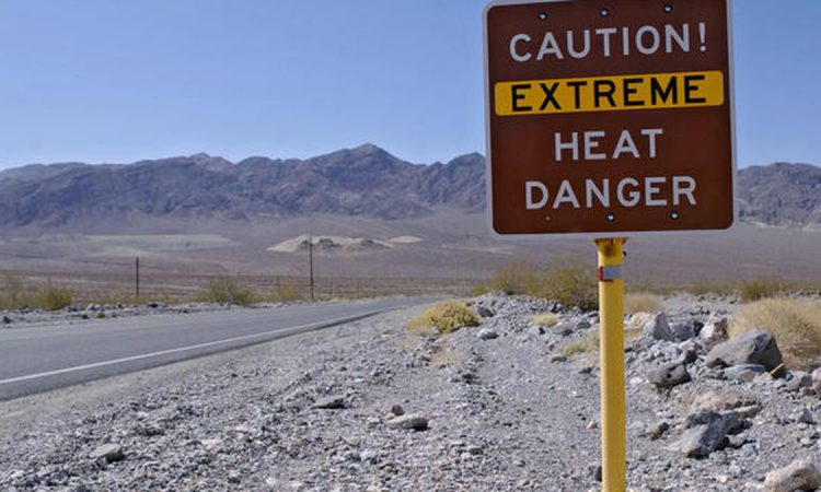 'Highest temperature' on Earth ever recorded as Death Valley hits 54°