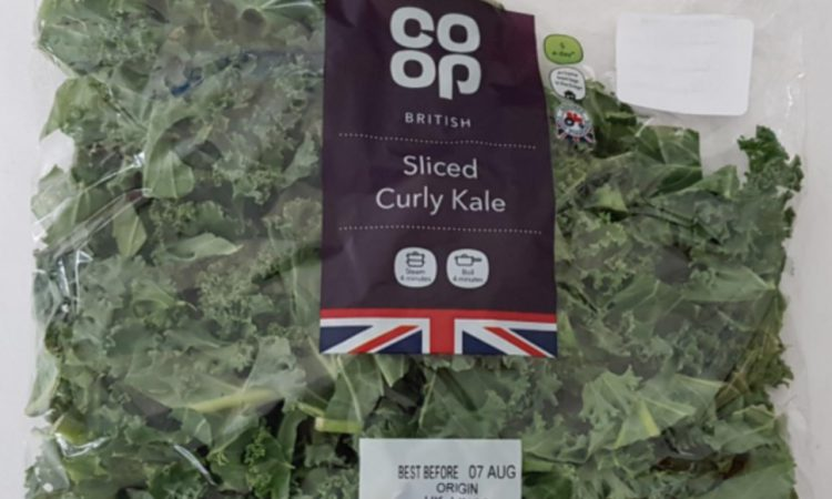 Packs of kale recalled…due to possible presence of thistle