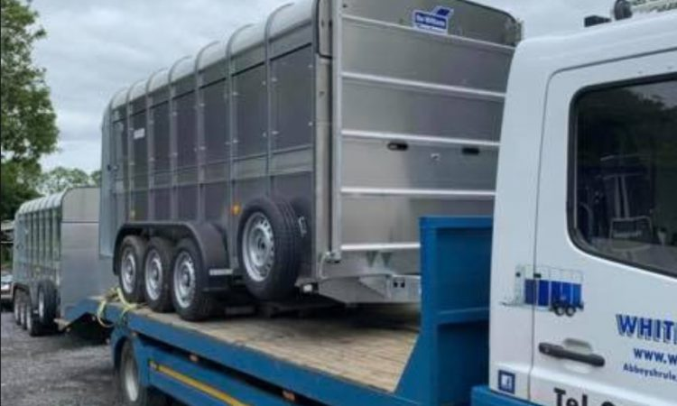 Reward offered for info on trailers and quad stolen in weekend raid