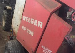 Parts taken from Welger baler 'probably stolen for similar machine'