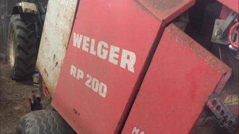 Parts taken from Welger baler 'probably stolen for similar machine'