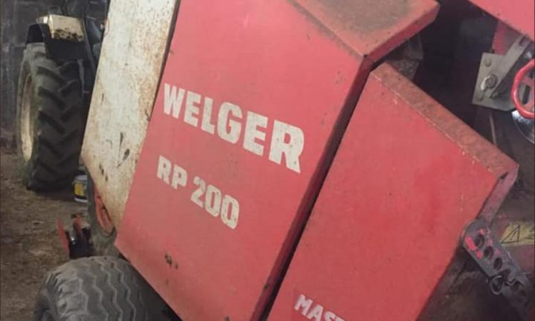 Parts taken from Welger baler 'probably stolen for identical machine'