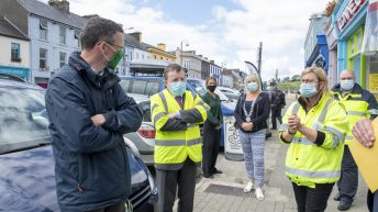 OPW minister visits Cork and Limerick to assess flooding after Storm Francis
