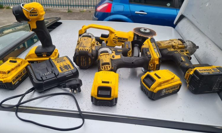 Power tools stolen in Mayo recovered…in Tallaght