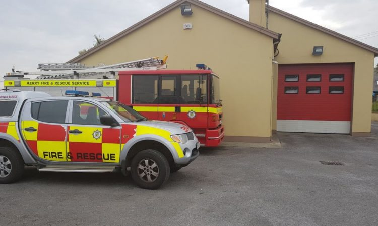Fire services mobilised after shed fire in Kerry