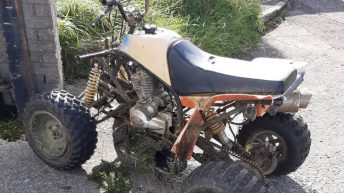 Quad 'observed driving in a dangerous manner' seized