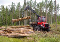 New 2021 range of Komatsu forest forwarders hit Ireland