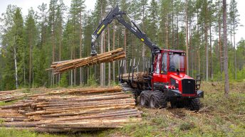 New 2021 range of Komatsu forest forwarders hit Ireland