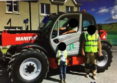 Appeal for info issued following overnight theft of Manitou