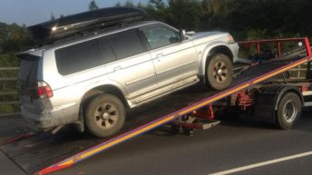 4X4 seized by Gardaí in Kildare
