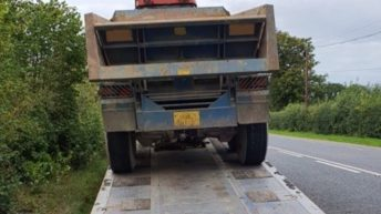 Asking for trouble: Tractor seized by Garda Roads Policing
