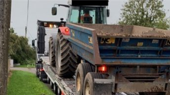 Tractor drawing trailer seized following Garda stop in Meath