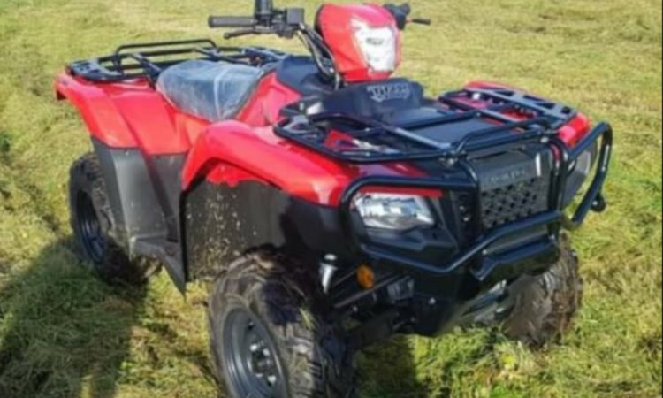 Gardaí investigate quad stolen from shed in latest farm theft