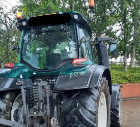 Tractor found parked up 'with its engine running and no one in it'