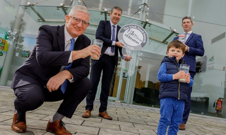 Aurivo organic whole milk takes silver award at Blas na hÉireann