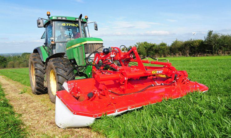 Irish innovation: Keltec unveils steerable front mower