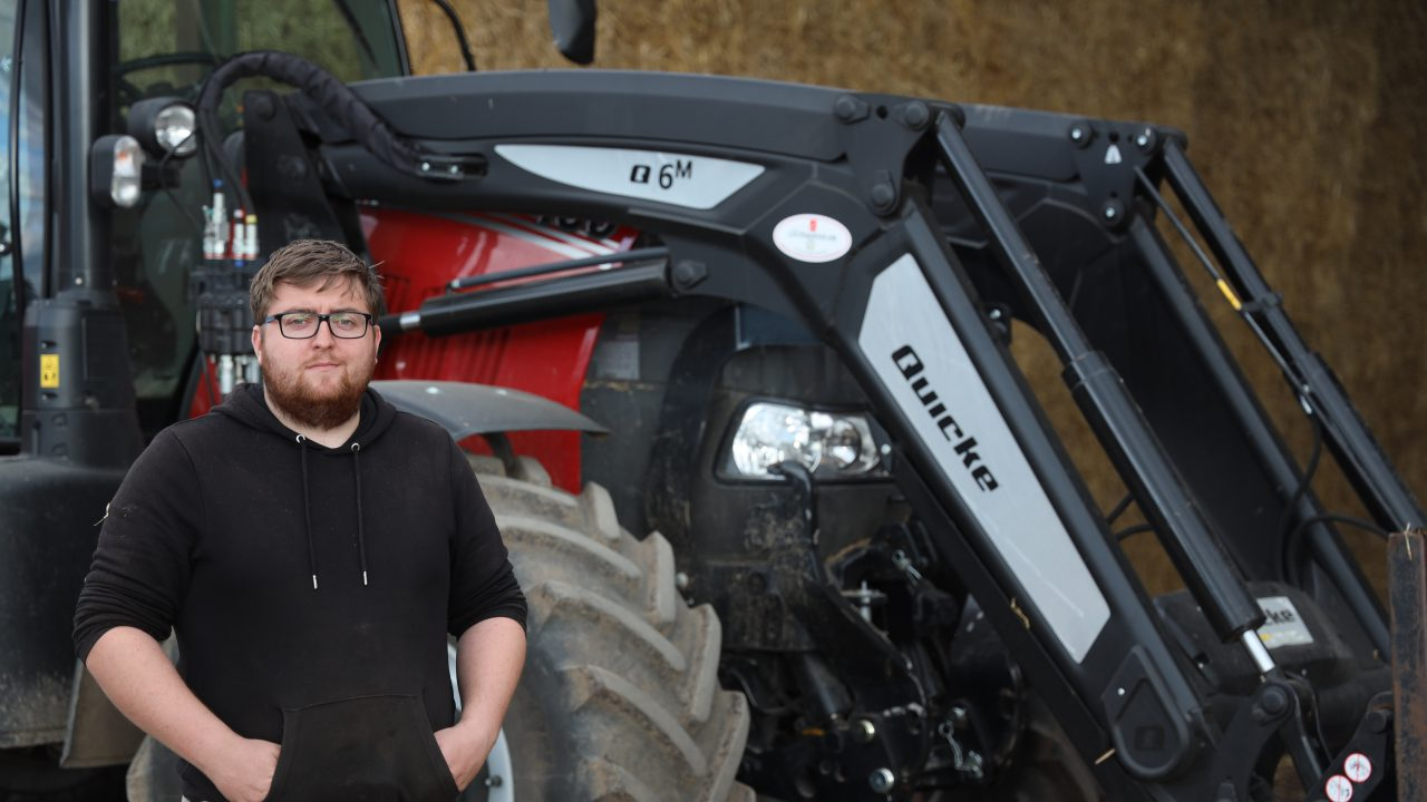 Which loader does this Co. Kildare tillage farmer choose every time?