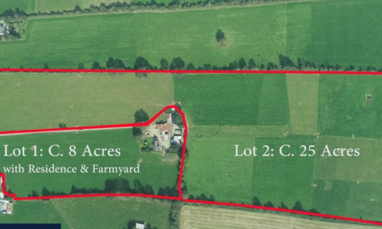 33ac residential holding near Gorey for sale