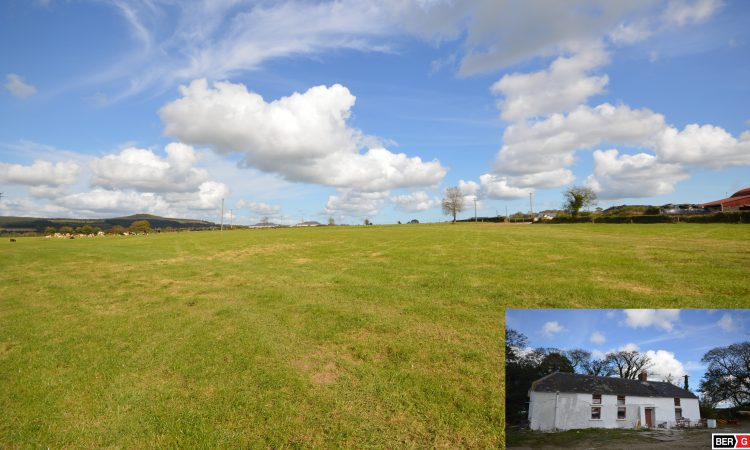 50.5ac roadside holding with farmhouse and sheds hits market