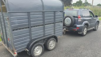 'Vehicle seized': Land Cruiser drawing trailer stopped by Gardaí