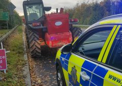 Telehandler seized by Gardaí 'with proceedings to follow'