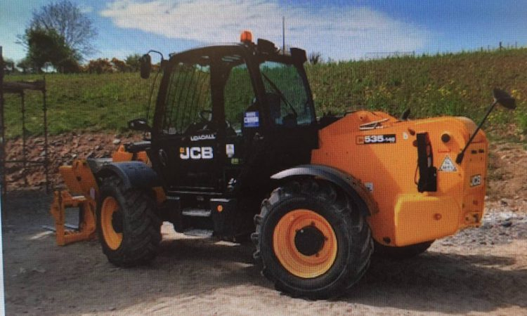 Appeal for info following theft of JCB telehandler