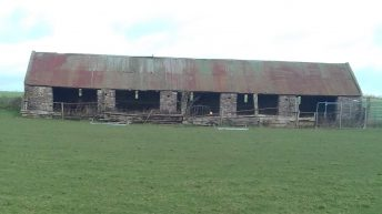 East Cork barn with linhay-type structure repaired