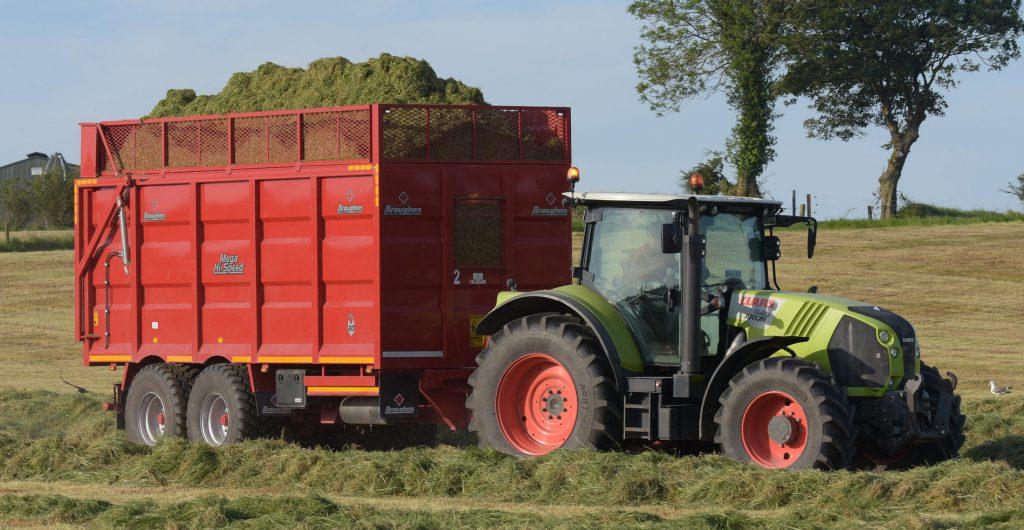 farm safety silage quality Image source: Shane Casey trailer braking fci