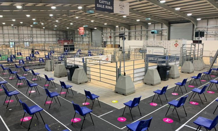 Final preparations underway for socially-distanced Beef and Lamb tomorrow