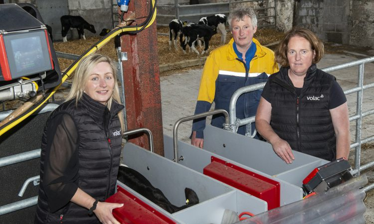 Volac computerised feeder has transformed calf rearing and performance on Kerry farm