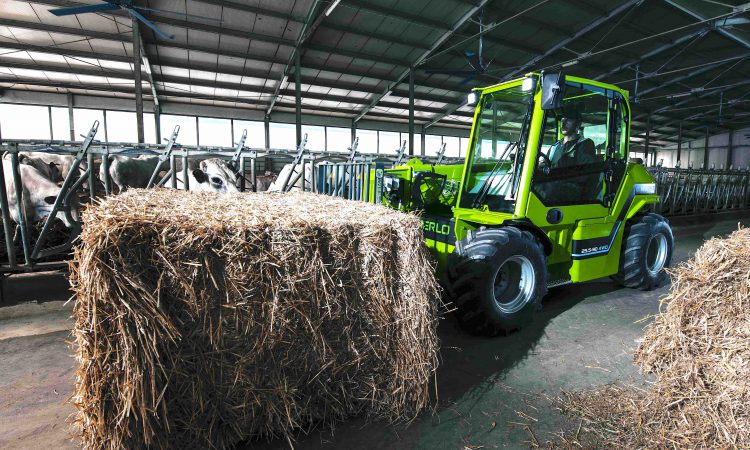 Clean and green: Merlo unveils electric e-Worker telehandler