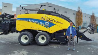 30,000th large square baler rolls off New Holland line