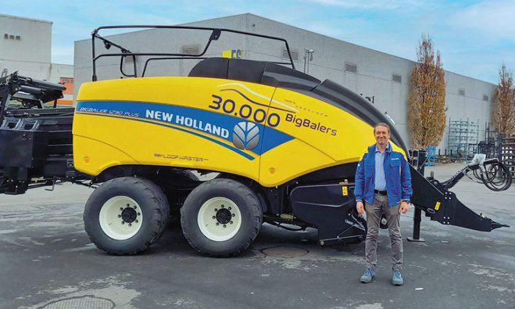 30,000th large square baler rolls off New Holland line