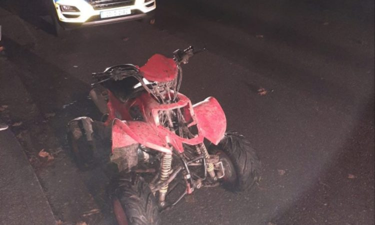 Gardaí seize quad from youth in Cork 'with proceedings to follow'