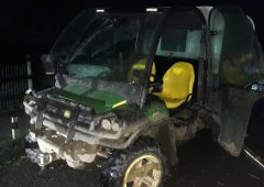 Stolen Gator recovered within minutes of being taken