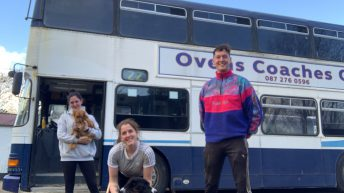 Farm family in drive to convert double decker bus