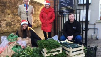 Agri-food businesses join forces to deliver 100 Christmas dinners to Co. Down town