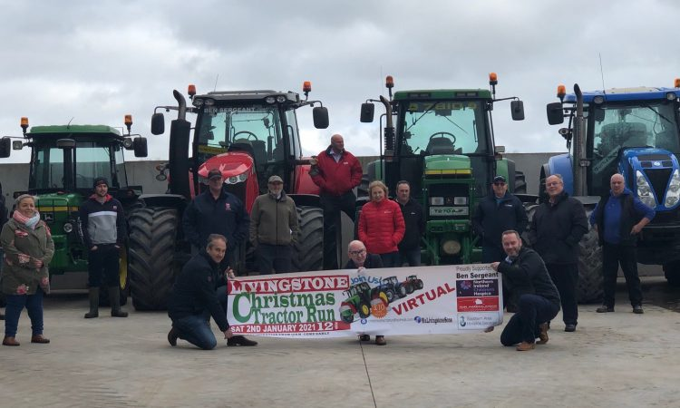 Final call issued for Livingstone Christmas Virtual Tractor Run entries