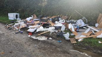 Unauthorised collectors warning issued amid illegal dumping in Meath