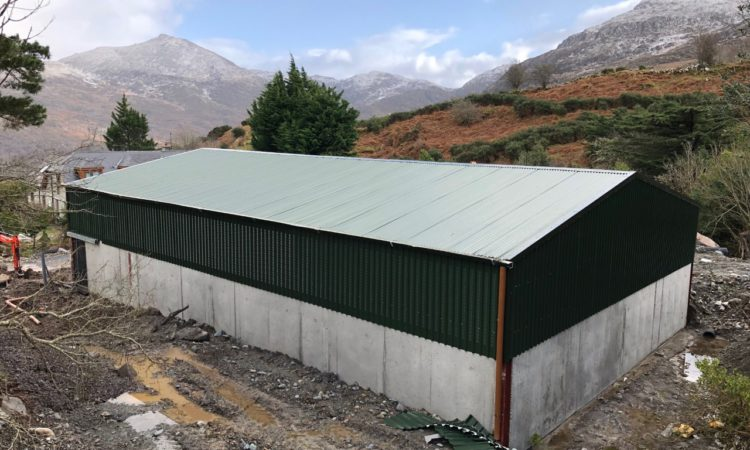 Back In Focus: A new sheep shed on the foot of Dunkerron Mountains in Co. Kerry