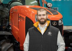Kubota appoints UK product manager for M-series portfolio