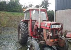 Massey Ferguson tractor and McHale bale splitter stolen in Cavan
