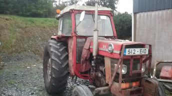 Massey Ferguson tractor and McHale bale splitter stolen in Cavan